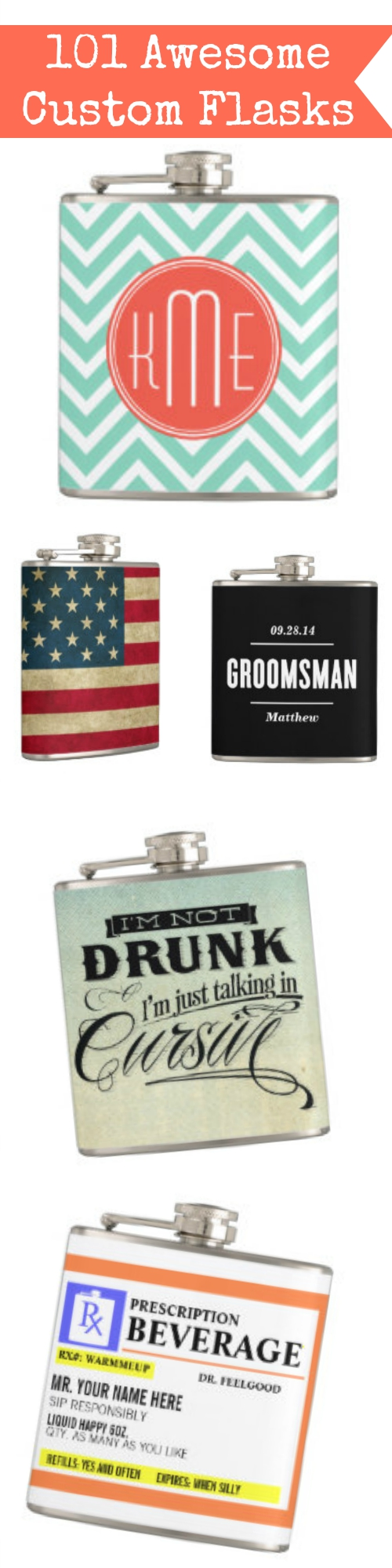 Custom Flasks